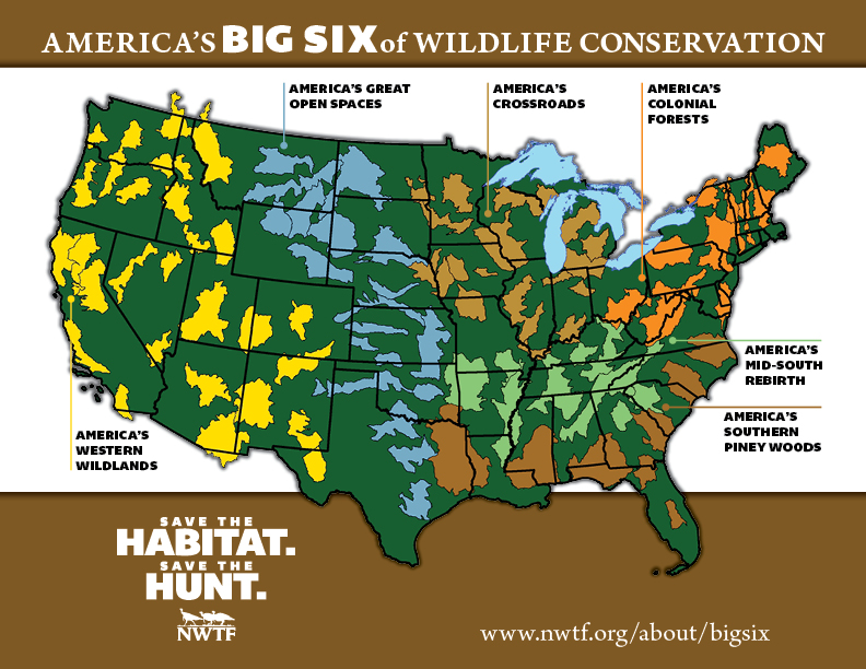 nwtf unveils future conservation plans